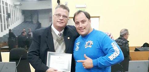"""Atleta Adrian Ocampo e Projeto """"Sou do Bem"""", na Vila Caiu do Céu"""