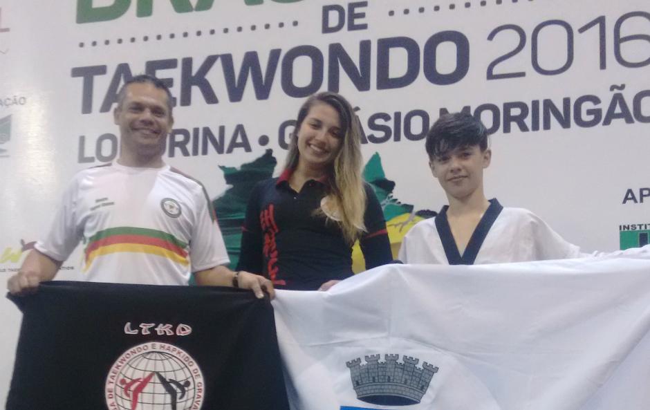 LTKD é bronze no campeonato Brasileiro de Taekwondo