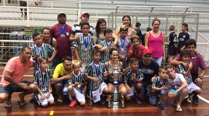 Fluminense campeão Sub 11 de Três Coroas