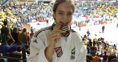 Natalia é vice na Copa São Paulo de Judô