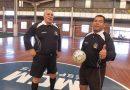 O Arbitro Paulão (E) faleceu nesta quinta-feira(16)