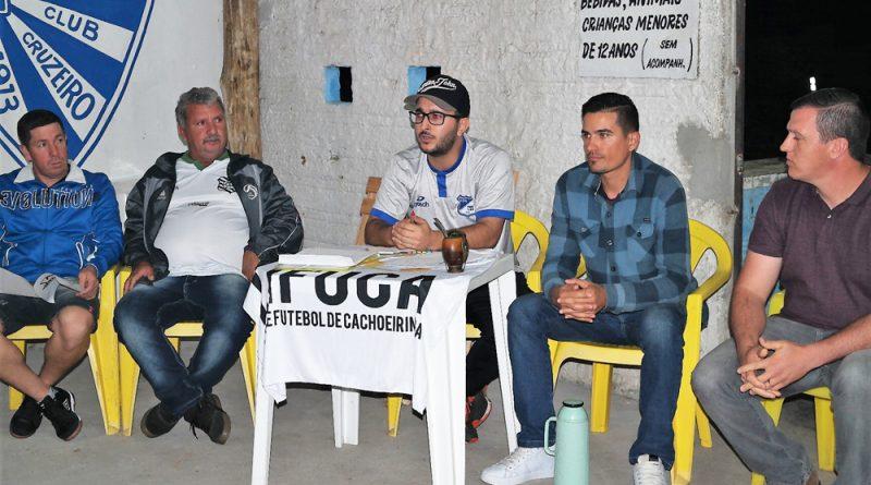 LIFUCA reuniu clubes na sede do Nova Cachoeirinha