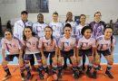 Iniciou o Municipal de Futsal feminino de Gravataí