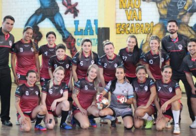 Entra em quadra o Arsenal Girls FC