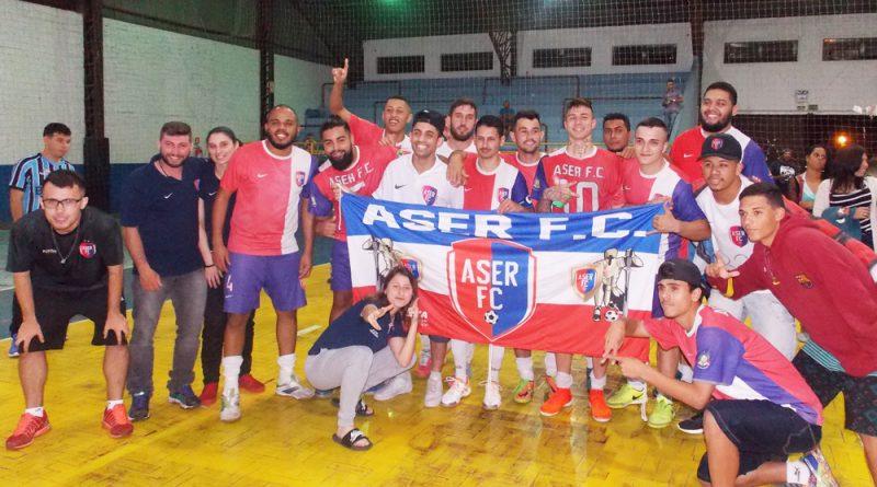 Aser campeão do Acesso do futsal de Cachoeirinha