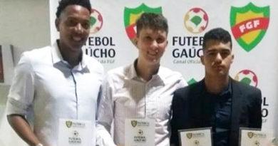 Três atletas do EC Cruzeiro na seleção