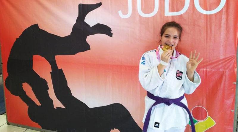 Natalia Oliveira é Tetracampeã no Judô Gaúcho
