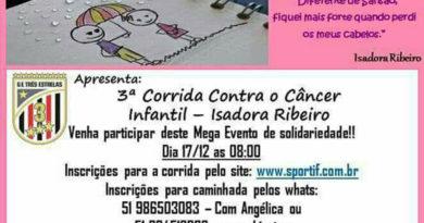 3ª Corrida Contra o Câncer Infantil Isadora Ribeiro