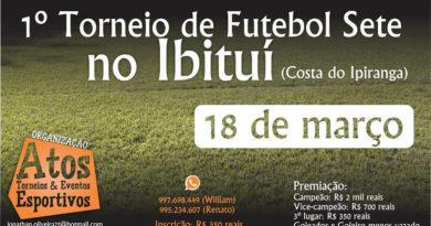 1º Torneio Futebol 7 no Ibituí