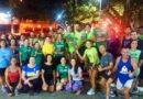 Equipe Night Runners na 3ª Rústica da Morungava