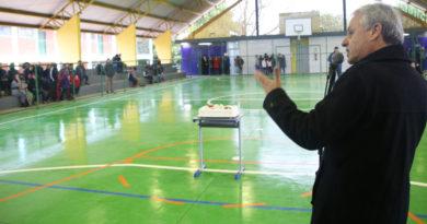 Inaugurada a quadra no Getúlio Vargas