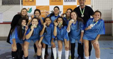 Santa Rita é campeã feminina no futsal dos JERGS