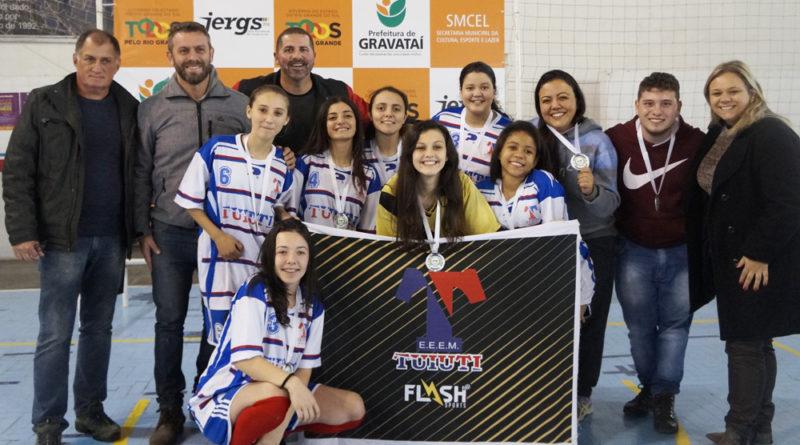Atletismo, Handebol e Futsal é destaque nos JERGS
