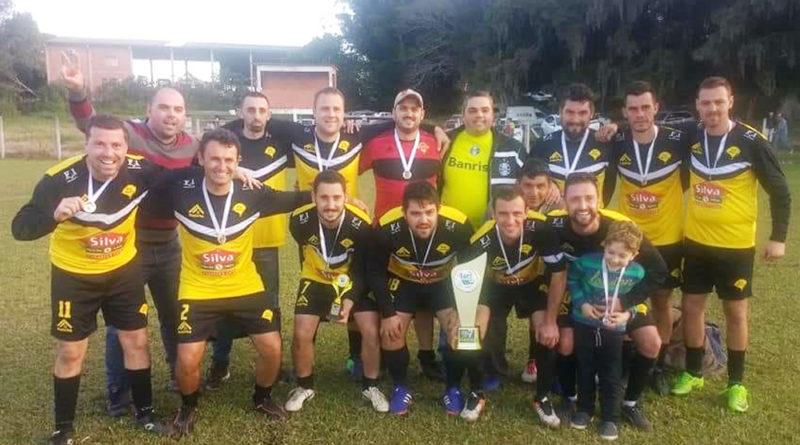 Os de Fé campeão do futebol Sete em Glorinha