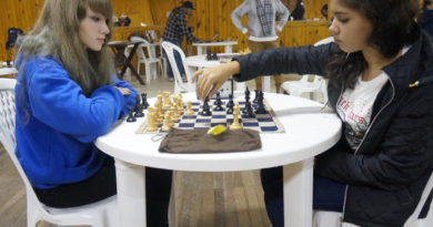 Representantes do Tênis de Mesa e Xadrez do JERGS