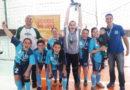 TDK campeão de Futsal Feminino do Sesi