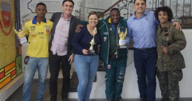 Carlos Artur e seu filho sagraram-se campeões no Uruguai