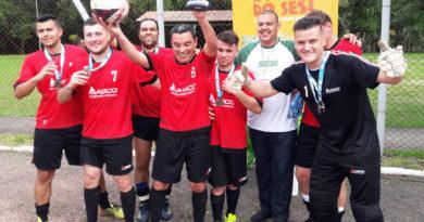 AGCO campeã Super Copa Sesi de Futebol Sete