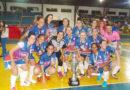 Onze Unidos campeão Feminino de Futsal
