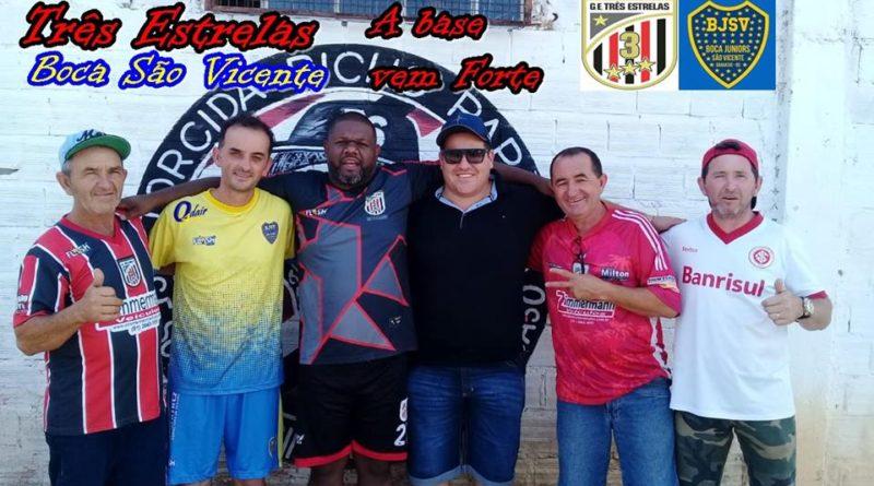 Com a parceria surge o Três Estrelas/Boca São Vicente