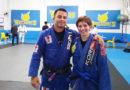 Natalia Oliveira é faixa Azul no Jiu Jitsu