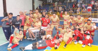RL Futsal campeão de Futsal de Cachoeirinha