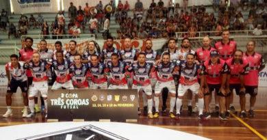 Cascavel é a campeã da Copa de Futsal de Três Coroas