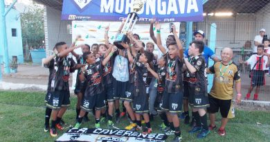 Caveirense Campeão do Torneio de Morungava