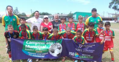 RELEMBRANDO 2013 – Vila Elisa campeã Sub 9 e Sub 11