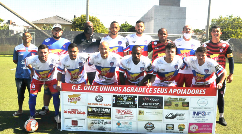 ONZE UNIDOS SEGUE 100% NA SUPERCOPA