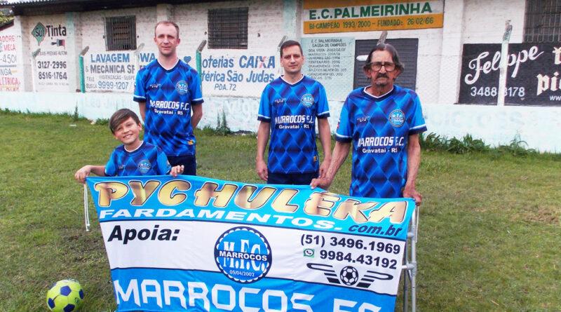 MARROCOS FC. 22 ANOS DE EXISTÊNCIA